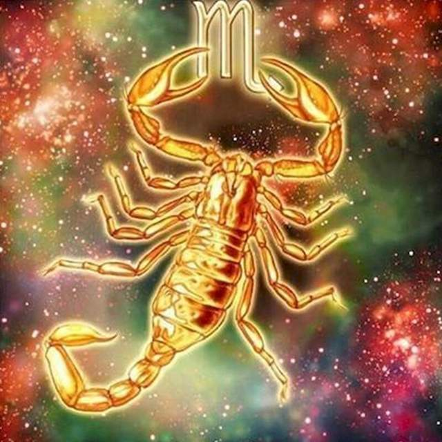 Scorpio Zodiac Sign - Acrylic Paint by Numbers