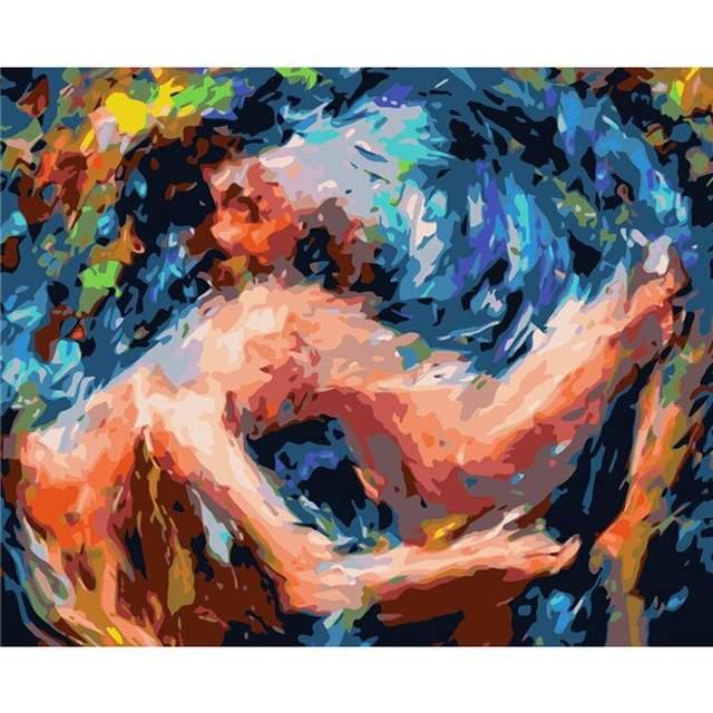 Sea of Feelings - Peoples Paint by Numbers Kit
