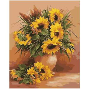Sunflowers - Flower Painting by Numbers Kit