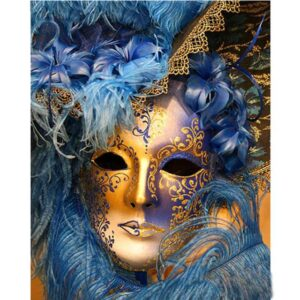 Venice Mask - Holiday Paint by Numbers
