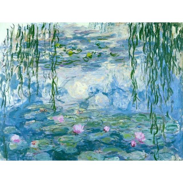 Water Lilies by Claude Monet 1926 - Famous Painting by Numbers Kits