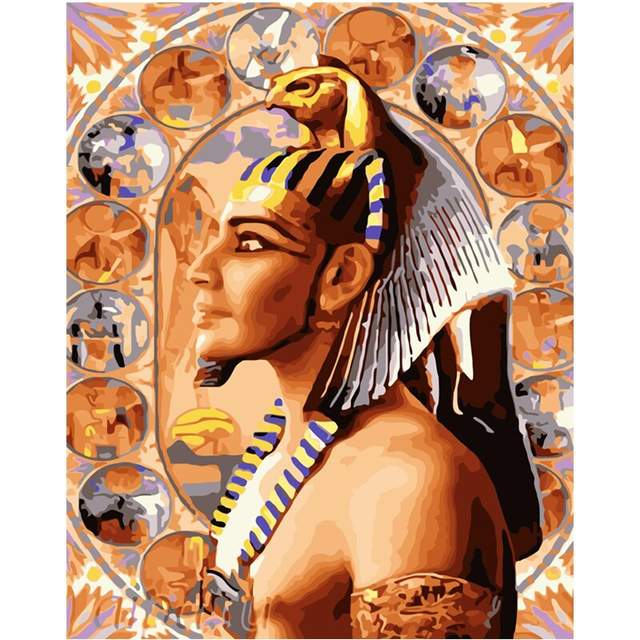Egypt Pharaoh - Egyptian Paint by Numbers