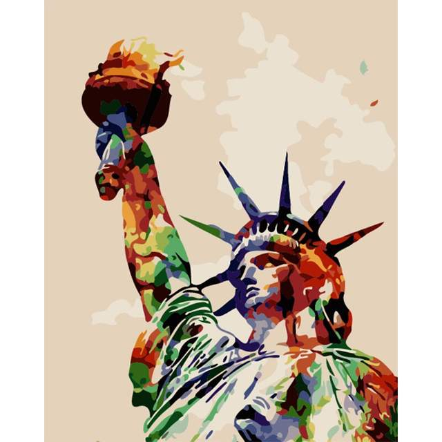The Statue of Liberty - Paint by Numbers New York